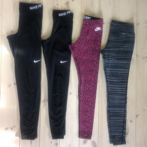 OBS: Kun de lyserøde tilbage Fragt koster 33 kr med DAO  Nike JUST DO IT pink leopardprint - XS Pris efter bud :)