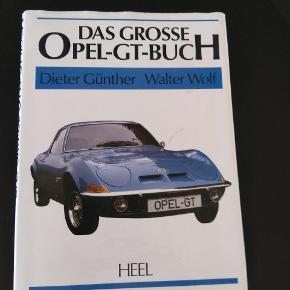Den store Opel GT bog