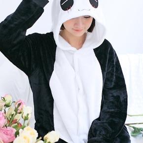 Pandakostume - heldragt.  Str. 125 100kr plus porto