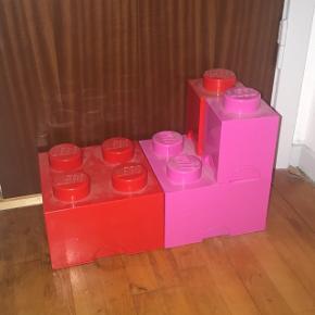 Lego opbevarings kasser sælges billigt da de bare skal væk!
