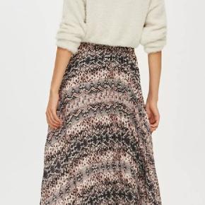 Topshop Snake print pleat midi skirt str.40/L #30dayssellout