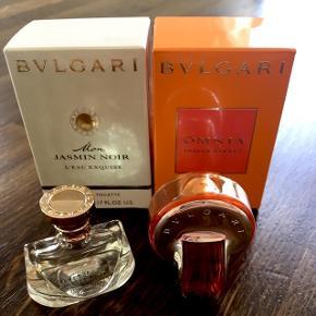Mini parfumer fra BVLGARI, 2 x 5 ml., aldrig brugt