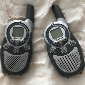 Twin Talkers 3000 2 stk. Sælges billigt for kun 250.-kr  Næsten ikkebrugt.