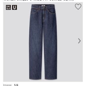 Vidde jeans fra Uniqlo, størrelse W25L32. Kom med et bud, brugt få gange :)