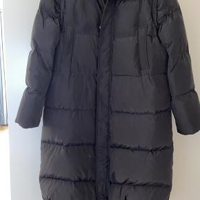 Ganni long down jacket  Size 36   Very good condition!