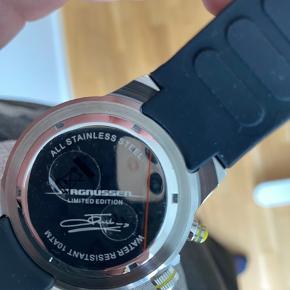 Limited Edition Jan Magnussen ur. Er stadig i ur æsken. Har aldrig været brugt.