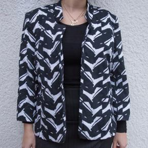 Blazer/jakke med print / str S/M