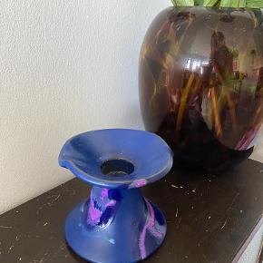 Knabstrup keramik Lysestage