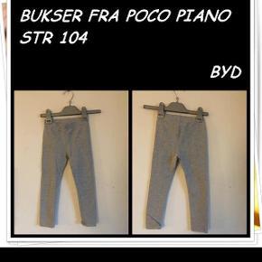 Bukser fra poco piano str 104 byd