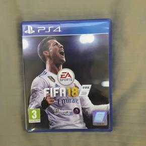 FIFA 18 til PS4. I god stand 🎮