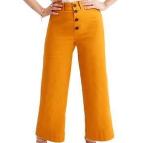 """Overvejer at sælge min Madewell Emmett Wide Leg Crop bukser... google det for mere info. Bud modtages, spørg venligst ikke hvad min """"mp"""" er :)  #trendsalesfund"""