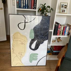 Smukt billede af Mathilde Vesterskov. Str. 70x100cm. Sælges da vi er flyttet og det ikke passer ind i vores nye lejlighed. Kan hentes på Nørrebro i KBH :-) ramme medfølger