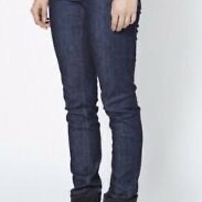 Fine acne jeans model flex s are str 31/34- hooldbare jeans med massere af liv tilbage dog er lædermærket bag på faded af i vask