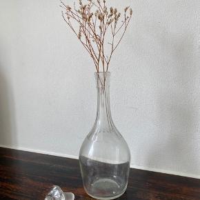 Karaffel som også kan anvendes som vase