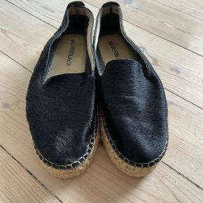 Silverblack sandaler