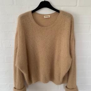 Fin sweater i 50% angora og 50% polyamide Str. xs/s stor i det.