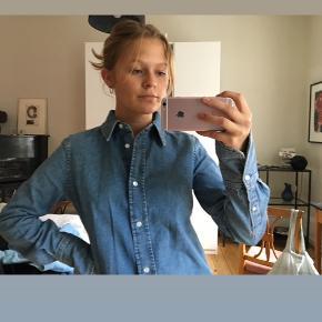 Denim skjorte 🌈 Brugt 1 gang og fremstår som helt ny