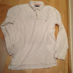 Brand: Tommy Hilfiger-NY! Varetype: Bluse Størrelse: Xxlarge Farve: Hvid Oprindelig købspris: 750 kr.