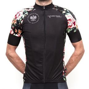 La Flamme Rouge cykeltrøje i god tætsiddende kvalitet. Lavet i samarbejde med verdensmester Michal Kwiatkowski.