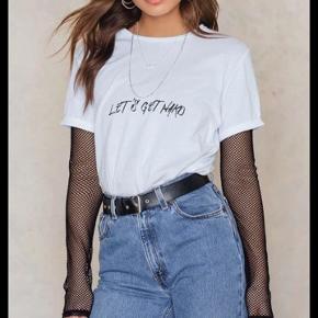 Vanessa Moe x Na-KD. Helt gennemsigtig trøje. Kan styles som på billede 2