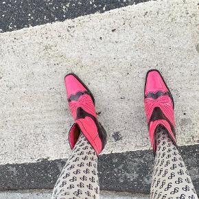 Ganni cowboy støvler
