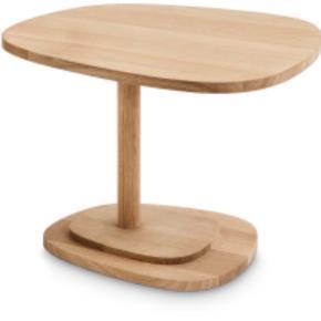 Nyt mindre sofabord - sidebord sælges. Modellen hedder Insula Piccolo Large Lyst ubehandlet egetræ. Nypris kr 5970. Erik Jørgensen.   Helt nyt.   Sendes ikke.