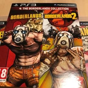 The borderlands Collection. Til PS3Borderlands 1 & 2. 1'eren er næsten gennemspillet 2'eren er aldrig spillet.  Sælges grundet køb af ps4.