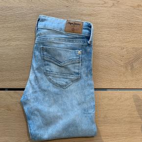 Fine forvaskede jeans, model Pixlette str. 10