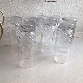 8 smukke krystalglas fra Frederik Bagger. Afhentes i Odense ❤️