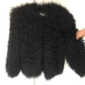 Pels jakke med foer.  Mp er 2500kr
