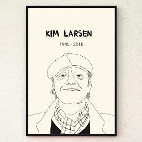 Kim Larsen plakat 30x40.