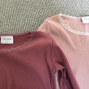 Søde t-shirts fra The New.  Sælges samlet eller enkeltvis. 50 kr pr stk eller begge for 80 kr. Afh i 6710