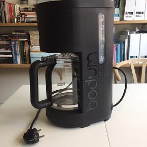 Brugt 2 gange da vi sjældent laver filterkaffe. Kører som ny