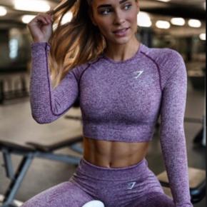 Smukkeste Gymshark sæt top (str. s) tights (str. m) næsten aldrig brugt.