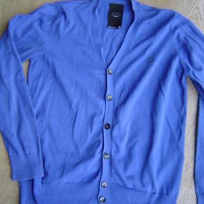 Varetype: Lækker strik cardigan str. L fra G-Star RawFarve: Blå  Lækker strik cardigan str. L fra G-star Raw  Byd!