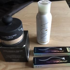 """NOA NOA DEO ER SOLGT  Dark blonde foundation pudder ( testet) 2 eyebrow ink ( kun """" brown """"tilbage) Sælges samlet for 100 kr"""