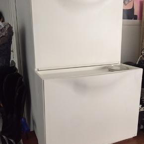 Sko opbevaring fra Ikea, 3 stks - rigtig fin stand. Nypris for 2 stk 199,-
