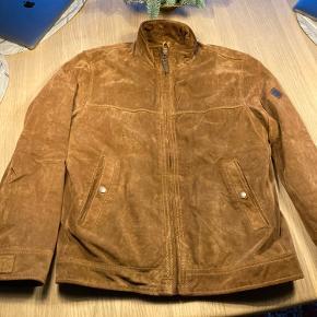 Timberland skind- & læderjakke