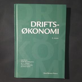 Driftsøkonomi, 3. Udgave  Kun få overstregninger  BYD