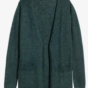 Dark bottle green cardigan. It's mohair and wool blend from premium collection in size xs, fits size small too.