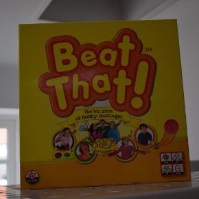 Beat That spil, aldrig brugt.