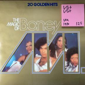 Bonet m lp plade på vinyl en samling fede sange super stand