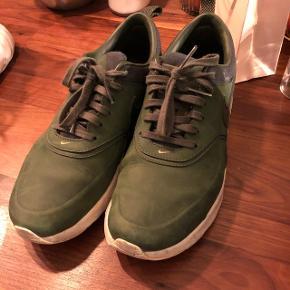 Grønne Nike i ægte læder. Str 39 næsten som nye.