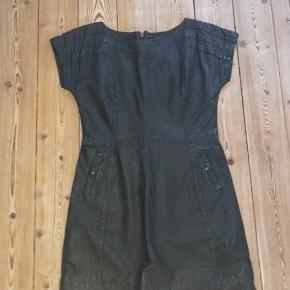 Læder kjole fra Object Har mest bare lagt i skabet, og er derfor maks brugt 3 gange:)
