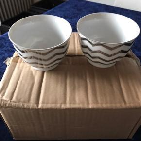 12 flotte sølv Adrienne skåle - 25 cl - Helt nye stadigvæk i kasse.  Giv et realistisk bud😊