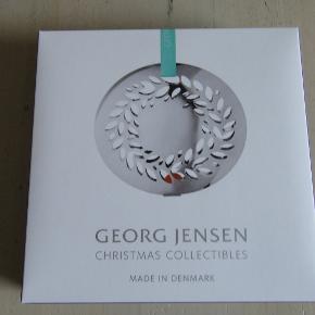 Flot og elegant Georg Jensen juleuro fra 2016 i original æske, aldrig været ude af æsken.