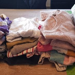 3 tøjpakker i str 56/62 og 68 Der følger 3 stykker mere tøj til str 62.. da hun lige er vokset ud af det   Sælges samlet   Samlet 650 kr for alt