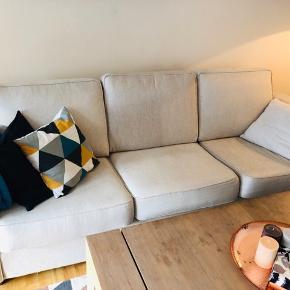Lækre sofaer,sælges, da jeg har arbet andre.  3-personers: 235x90 2-personers: 170x90