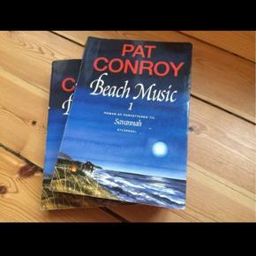 Pat Conroy,Beach Music bøger til sommerferielæsningen. 2 stk i første og andel del