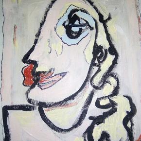 Dejligt maleri med ramme uden glas Str. 40 x 50 cm T.By.Art Se mine andre malerier i mine andre annoncer